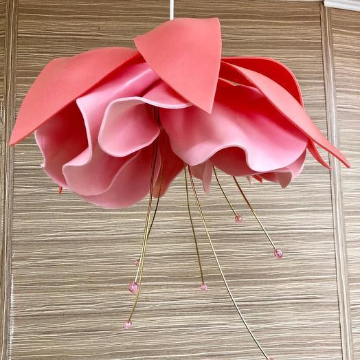 Светильник Нежная фуксия: букеты цветов на заказ Flowwow
