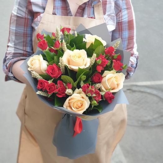 Пшеничная страсть: букеты цветов на заказ Flowwow