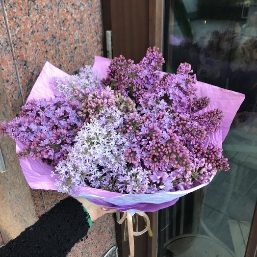 Настоящая ароматная сирень по супер цене: букеты цветов на заказ Flowwow