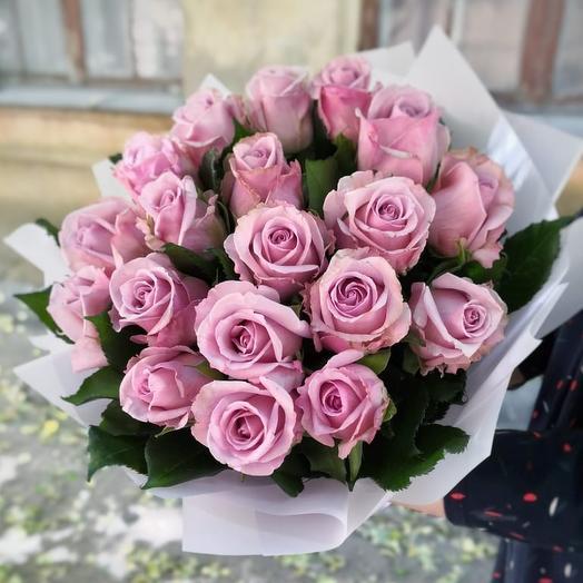 Фиолетовый рай: букеты цветов на заказ Flowwow