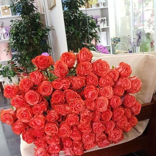 Розы Шоу герлз: букеты цветов на заказ Flowwow
