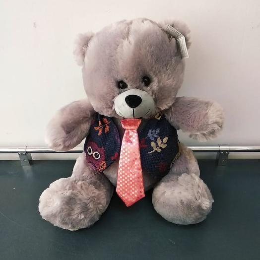 Медведь плюшевый: букеты цветов на заказ Flowwow