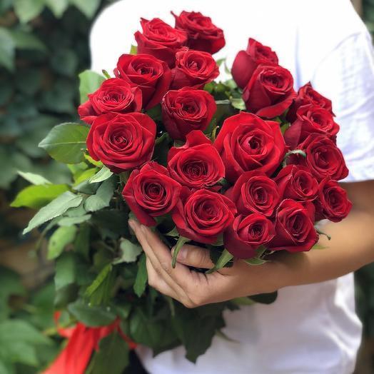 Букет из 21 импортной розы