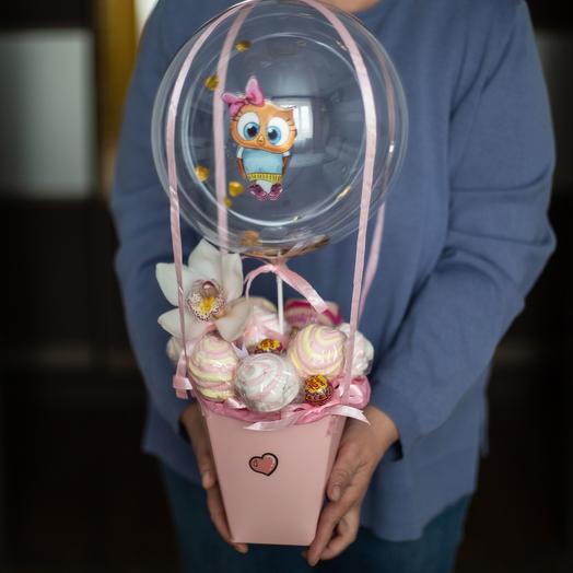 «Самой сладкой девочке»: букеты цветов на заказ Flowwow