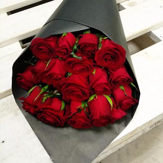 """Букет """"Страсть и любовь"""": букеты цветов на заказ Flowwow"""