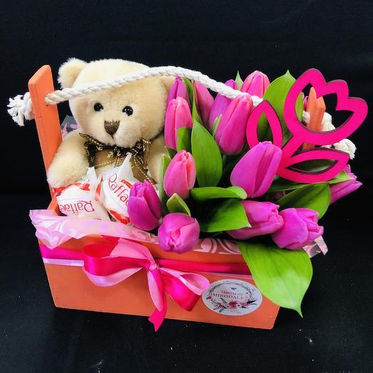 Сюрприз I «8 марта»: букеты цветов на заказ Flowwow