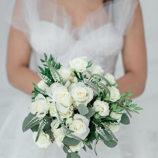 Свадебный букет Тот самый день: букеты цветов на заказ Flowwow