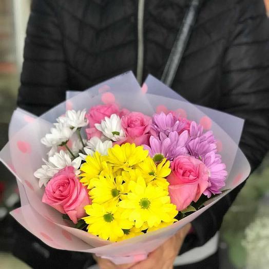 Радужный день: букеты цветов на заказ Flowwow