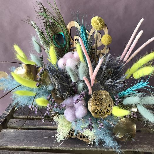 «Композиция в стиле Бохо»: букеты цветов на заказ Flowwow
