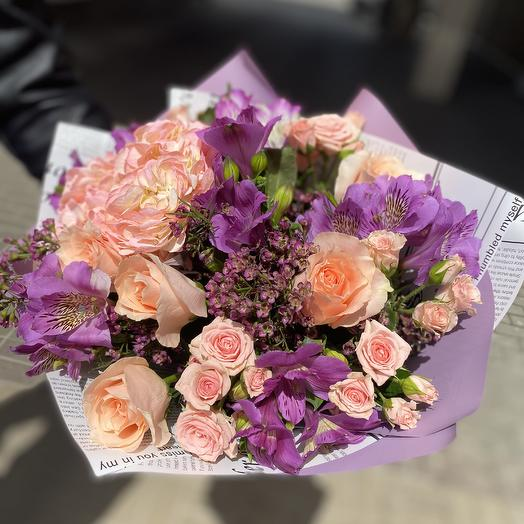 Нежный взгляд: букеты цветов на заказ Flowwow