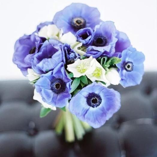 Букет Анемончики: букеты цветов на заказ Flowwow