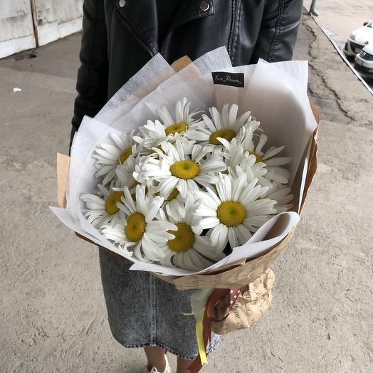 Букет ромашек!): букеты цветов на заказ Flowwow