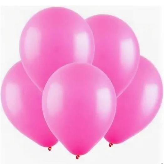 Rosalina - сет из 5 розовых шаров с гелием