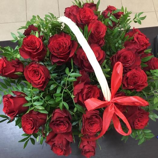 """Кармен"" корзина с цветами"