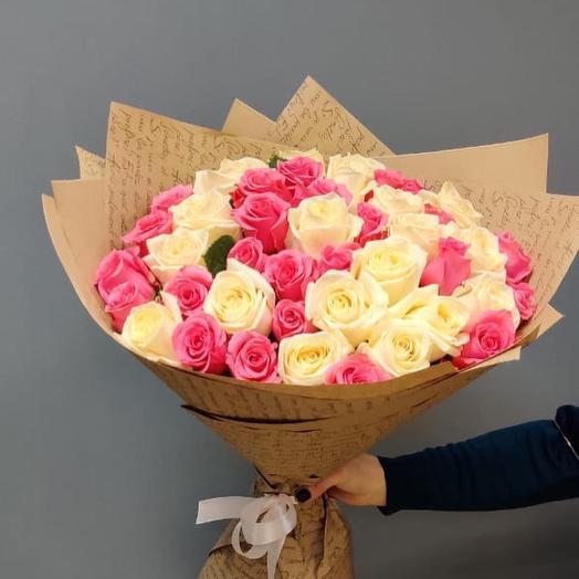 Букет из 39  розы