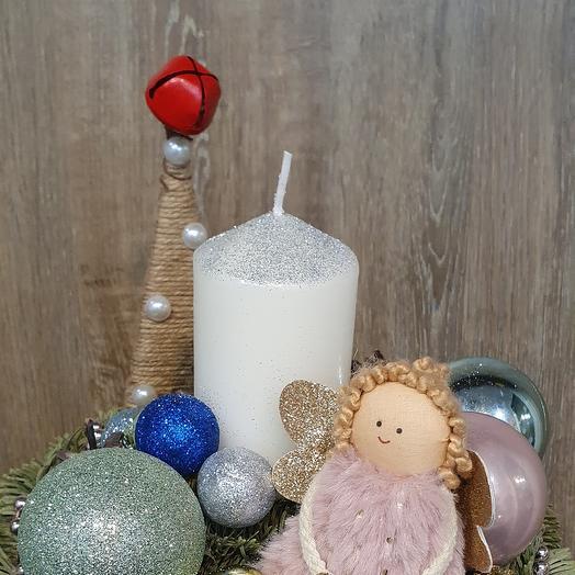 Декор рождественского стола