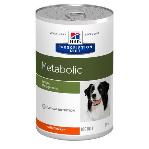 Hill s Metabolic диета влажный корм для собак для коррекции веса (с курицей) 370г