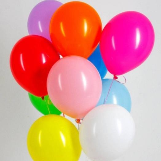Сет из радужных шаров