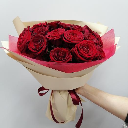 Два сердца💕15 роз