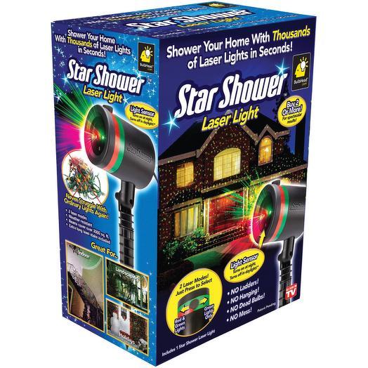 Проектор новогодний Star Shower