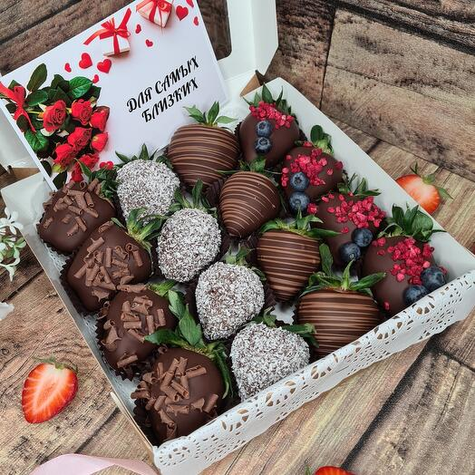 "Коробка ""Темный шоколад"""