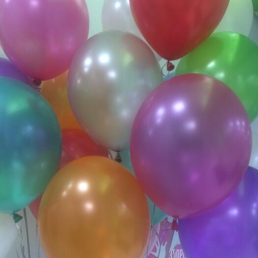 Композиция из 15 шариков