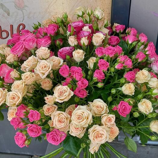 Кустовые розы 31 ве