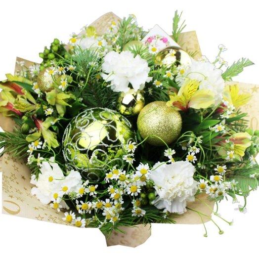 Букет В ожидании чуда: букеты цветов на заказ Flowwow