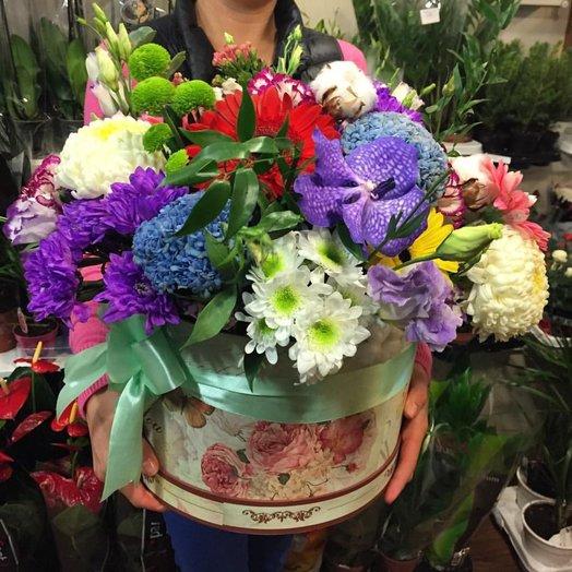 Коробка Миксер: букеты цветов на заказ Flowwow