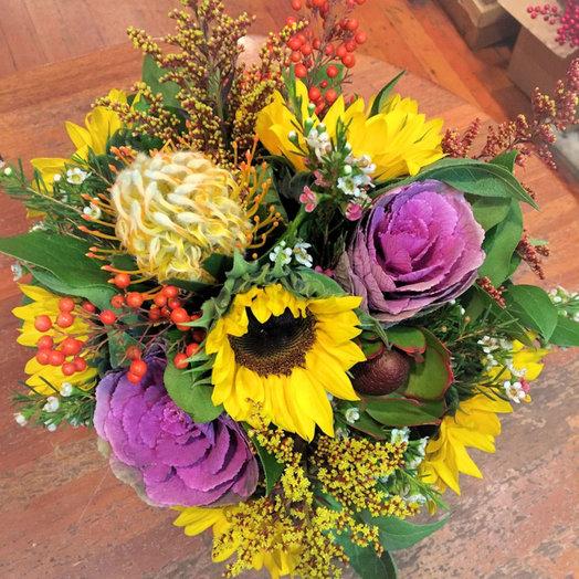Танзания (Букет 305): букеты цветов на заказ Flowwow