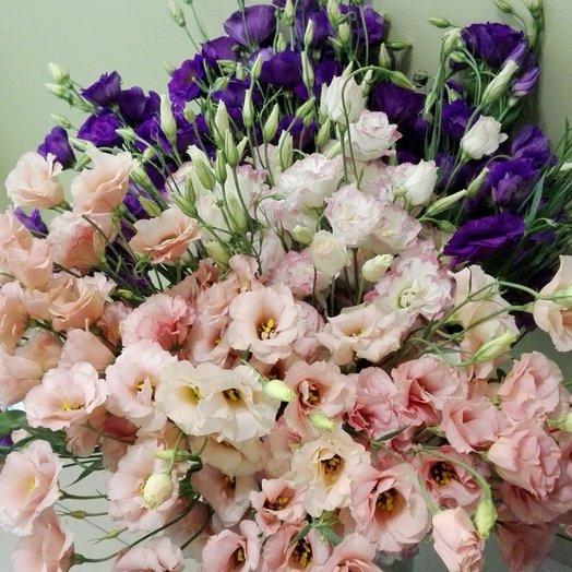 Роскошный лизиантус: букеты цветов на заказ Flowwow