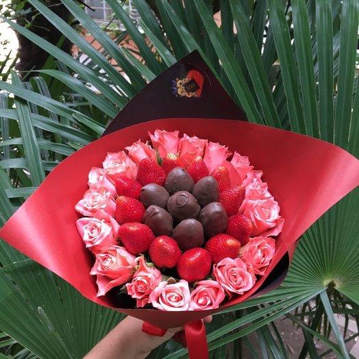 Корраловые бусы: букеты цветов на заказ Flowwow