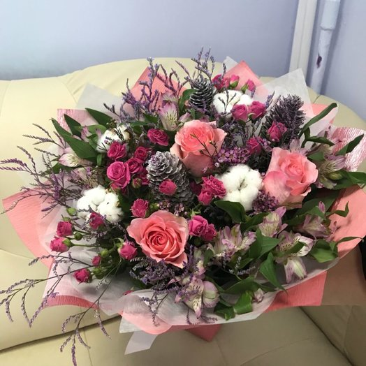 "Букет ""Шишкин лес"": букеты цветов на заказ Flowwow"
