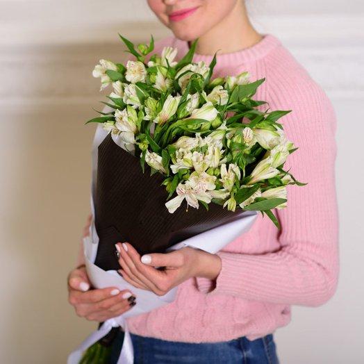 Букет из альстромерии The FRANCE: букеты цветов на заказ Flowwow