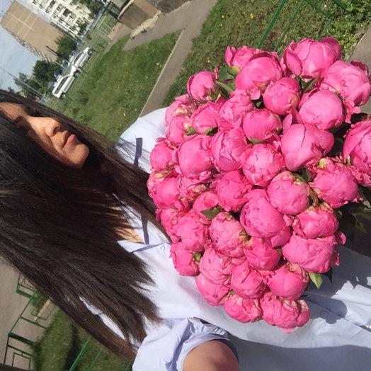 Нереальный пион: букеты цветов на заказ Flowwow
