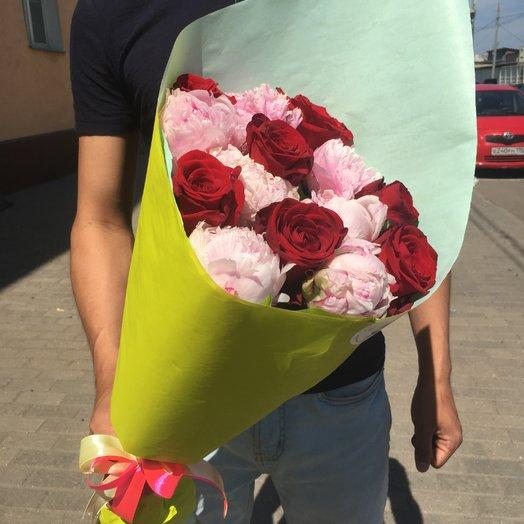Прелесть Парижа: букеты цветов на заказ Flowwow