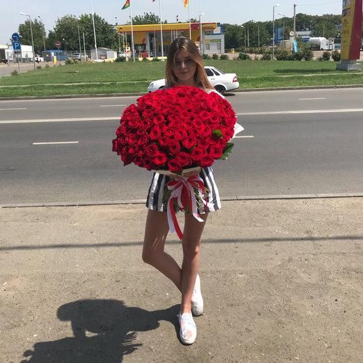 101-70 см: букеты цветов на заказ Flowwow