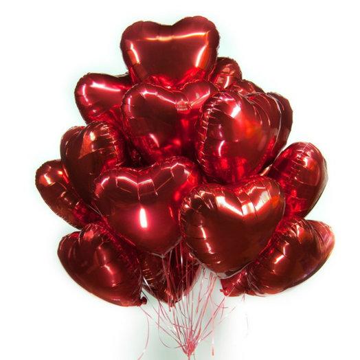 """Букет """"Сердечное признание"""": букеты цветов на заказ Flowwow"""