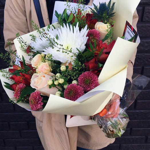 Бурже: букеты цветов на заказ Flowwow