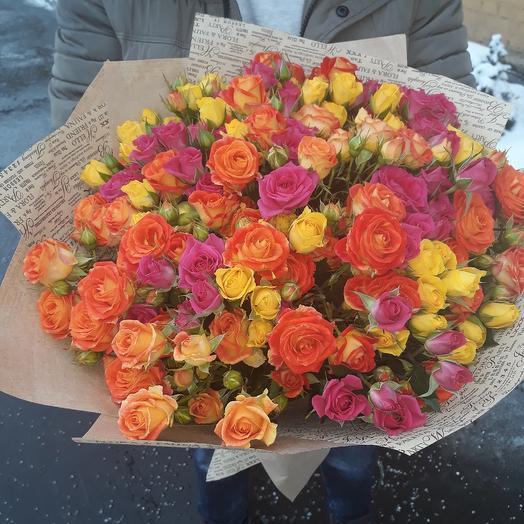 Кустовые: букеты цветов на заказ Flowwow