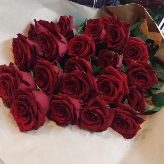 Букет из Эквадорской розы 100 см