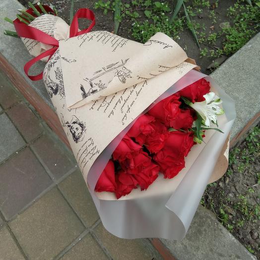 Букет классический: букеты цветов на заказ Flowwow