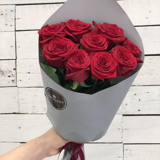 9роз Классика: букеты цветов на заказ Flowwow