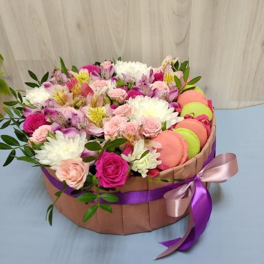 Пурпурный закат: букеты цветов на заказ Flowwow