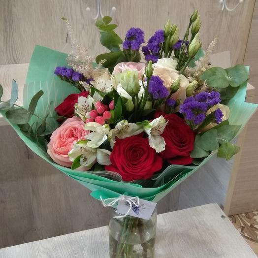 Думаю о тебе: букеты цветов на заказ Flowwow
