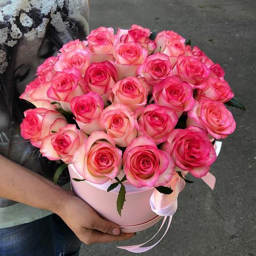"Букет роз ""Лепестки чувств"""