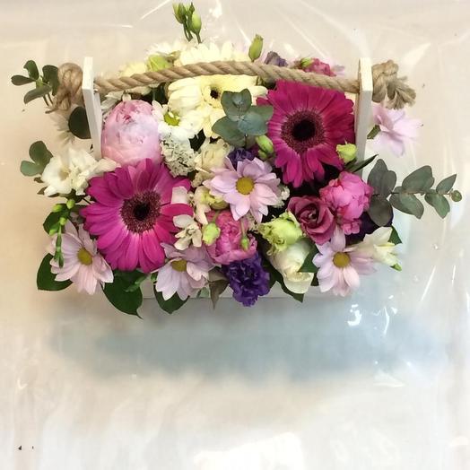 Луга прованса: букеты цветов на заказ Flowwow