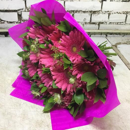 Герберы баблс: букеты цветов на заказ Flowwow