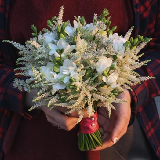 """Букет невесты """"Бархатистый звон"""": букеты цветов на заказ Flowwow"""