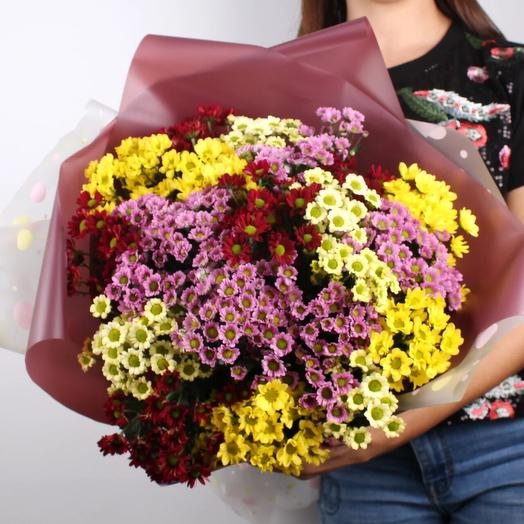 Букет из сантини микс: букеты цветов на заказ Flowwow